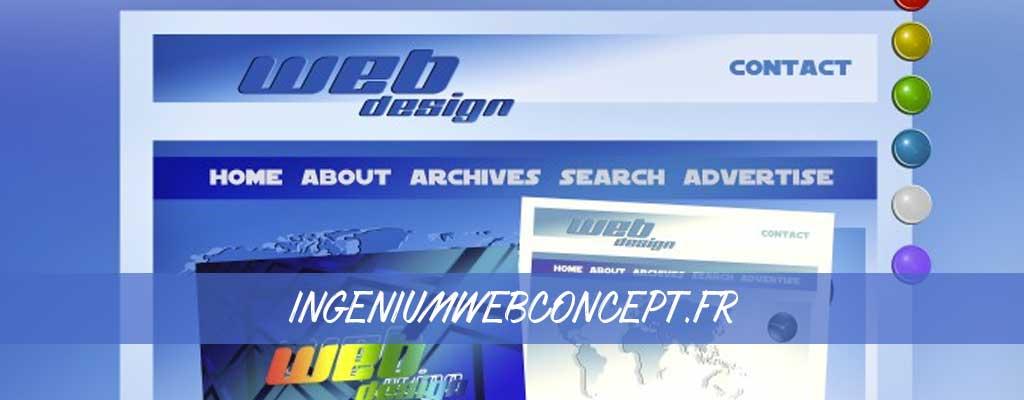 Ingeniumwebconcept